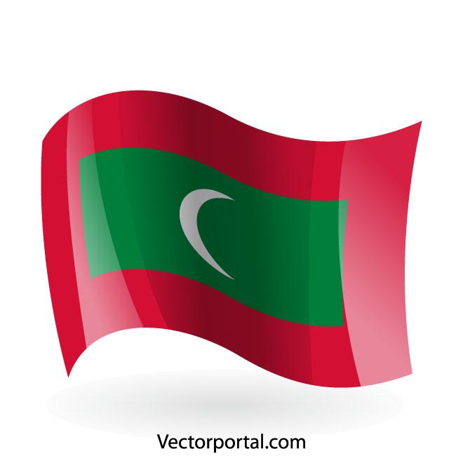 660x660 Maldives Flag Clip Art