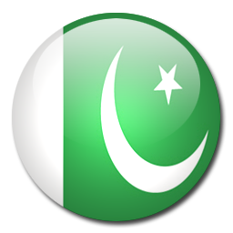 256x256 Pakistan Flag Vector Clip Art