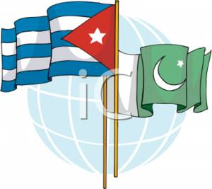 300x267 Clipart Picture Of The Flags Of Cuba And Pakistan