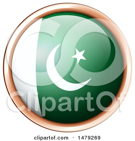 450x470 Clipart Of A Pakistani Flag Icon