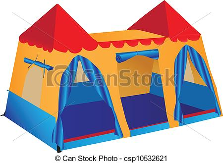 450x329 Fantasy Palace Play Tent. Fantasy Palace Game Stalls For Vector