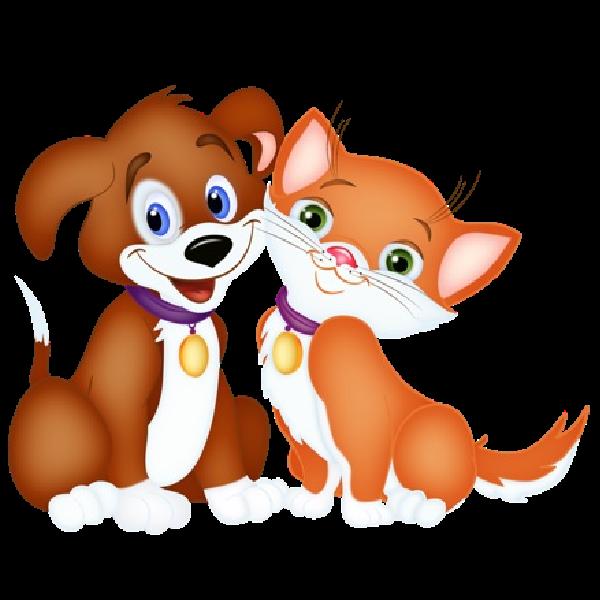 600x600 Clip Art Cartoon Pets Clipart