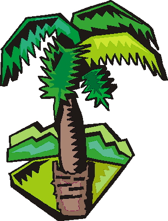342x449 Palm Tree Clip Art Flowers And Plants