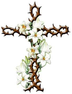 274x360 Lily Clipart Palm Cross
