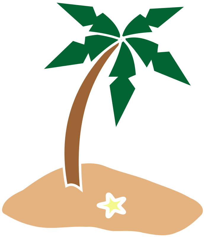 692x800 Palm Branch Clip Art