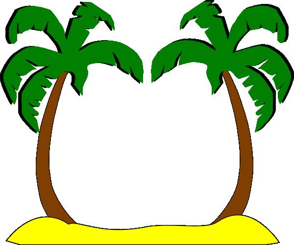 600x501 Sophies Palm Trees Clip Art