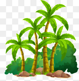 260x264 Coconut Tree Clipart, Download Free Png Format Clipart Images