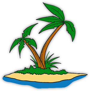 300x302 Free Animated Palm Trees