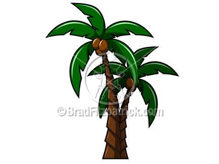 Palm Tree Leaves Clipart