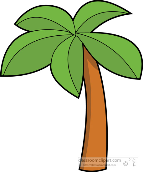457x550 Clip Art Palm Tree Leaves Clipart
