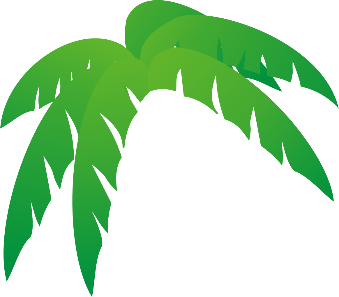 1164x1019 Ingenious Clipart Palm Tree Leaves Clipartxtras