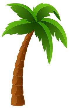 236x372 Palm Tree Clipart Image