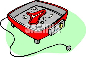 350x232 Electric Fry Pan Clip Art Cliparts