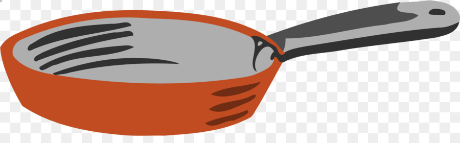 900x280 Frying Pan Kitchen Utensil Clip Art