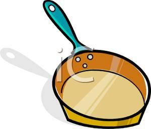 300x256 Clip Art Image A Frying Pan Clipart Panda