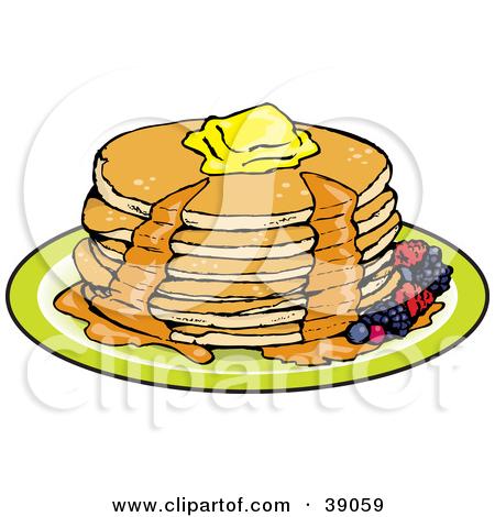 450x470 Pancake Breakfast Clipart Group