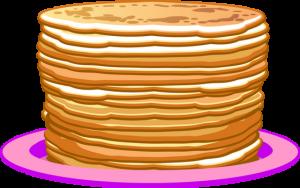 300x188 Pancake Clip Art Crpes Clipart Png Dessin Couleur Pancakes Drawing