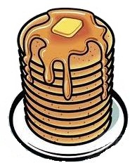185x232 Collection Of Stack Of Pancakes Clipart High Quality, Free