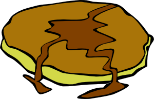 300x193 Pancake With Syrup Clip Art Free Vector 4vector