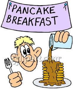 247x300 Pancake Clipart Kid Breakfast