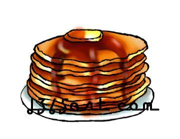 360x278 Pancakes Clip Art Clipart Panda