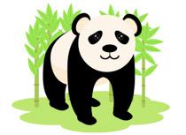 210x153 Free Panda Clipart