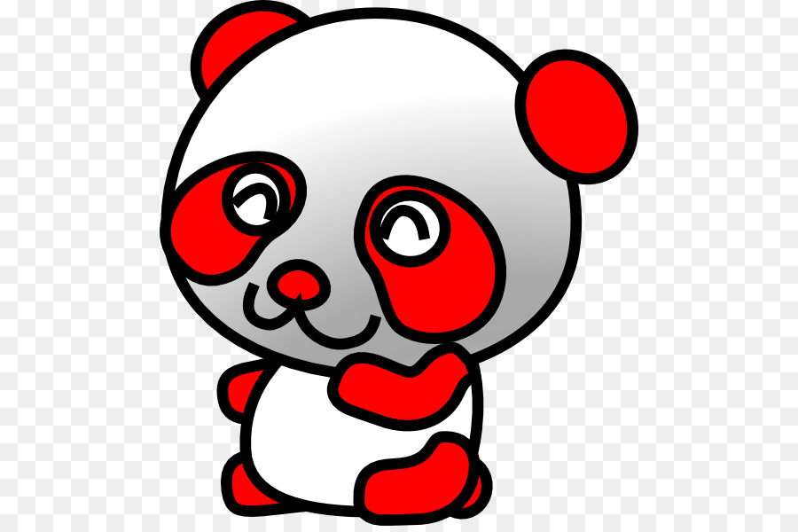 900x600 Giant Panda Bear Cuteness Clip Art