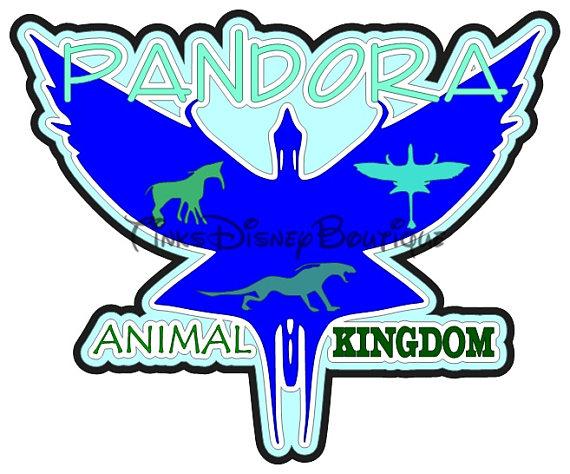 570x474 Disney Pandora Svg Clipart Animal Kingdom Scrapbook Title T