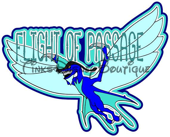 570x459 Disney Pandora Clipart Svg Flight Of Passage Animal Kingdom Title