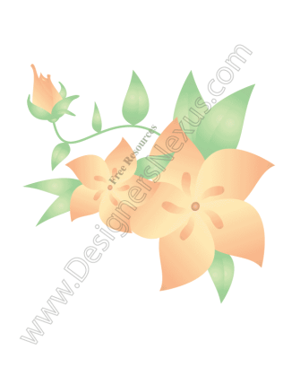 316x409 Free Downloads Floral Clip Art Amp Vector Flower Graphics