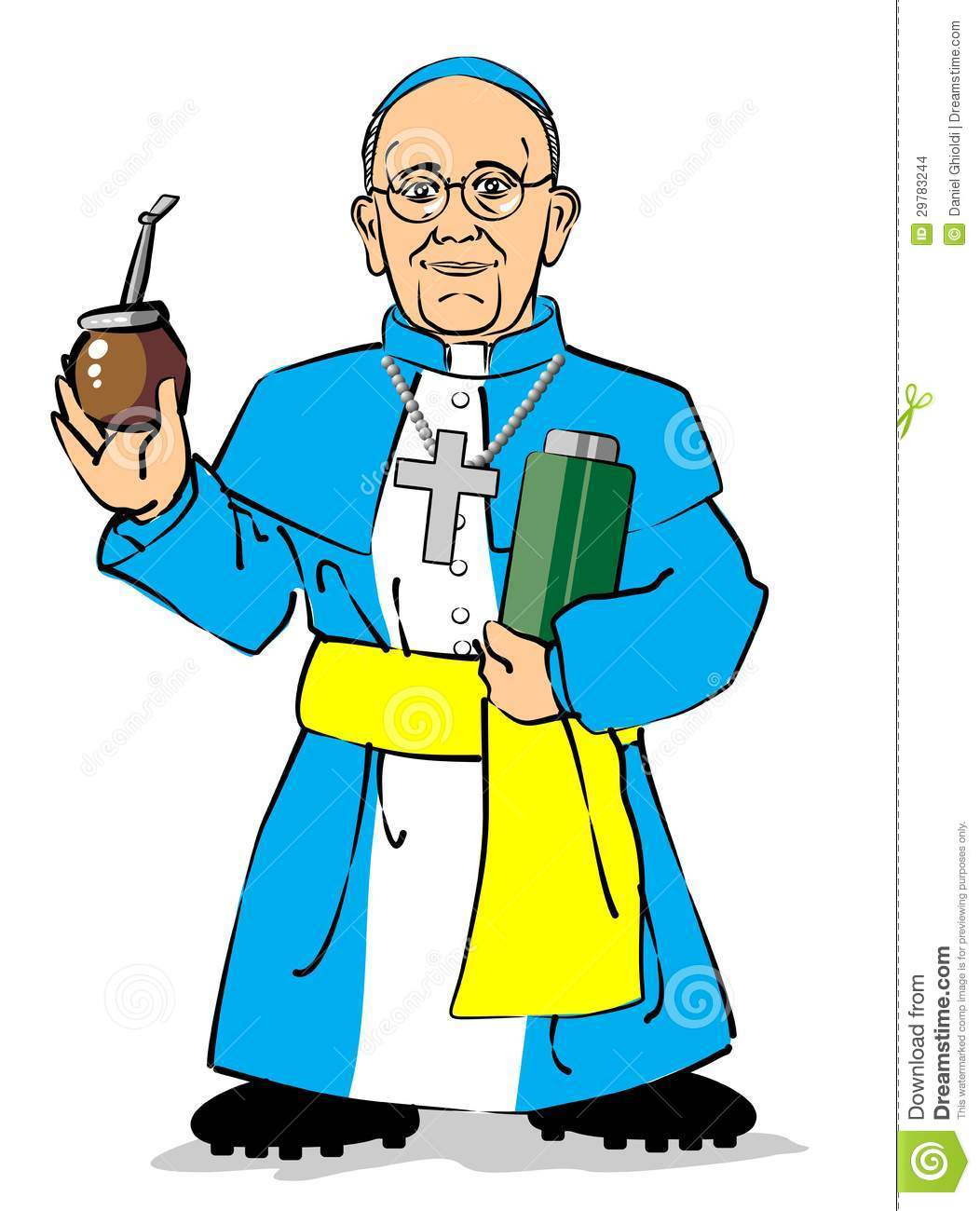 1052x1300 Pope Francis Clipart