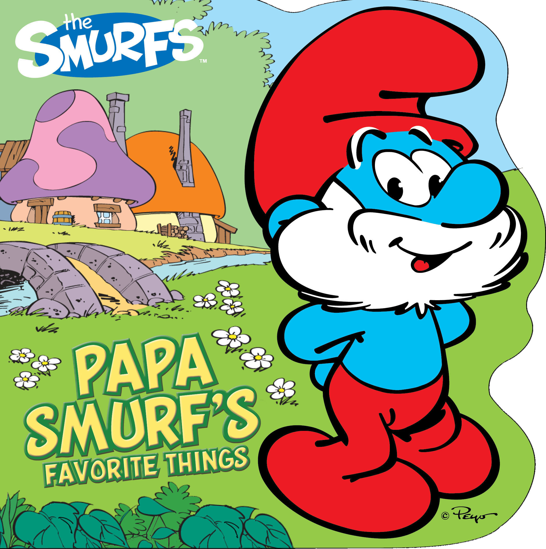2084x2096 Papa Smurf's Favorite Things Book By Peyo Official Publisher