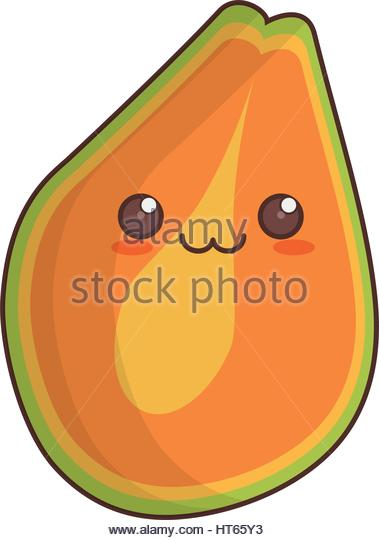 379x540 Papaya Clipart Perfect Pear