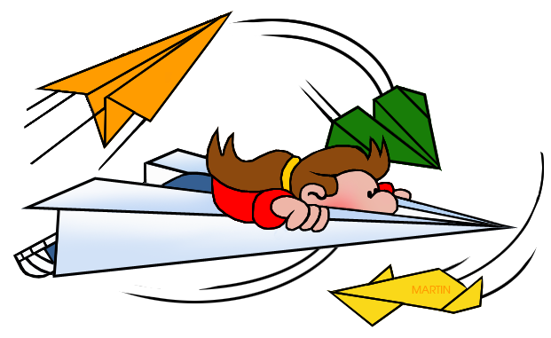 621x381 Image Of Paper Airplane Clipart
