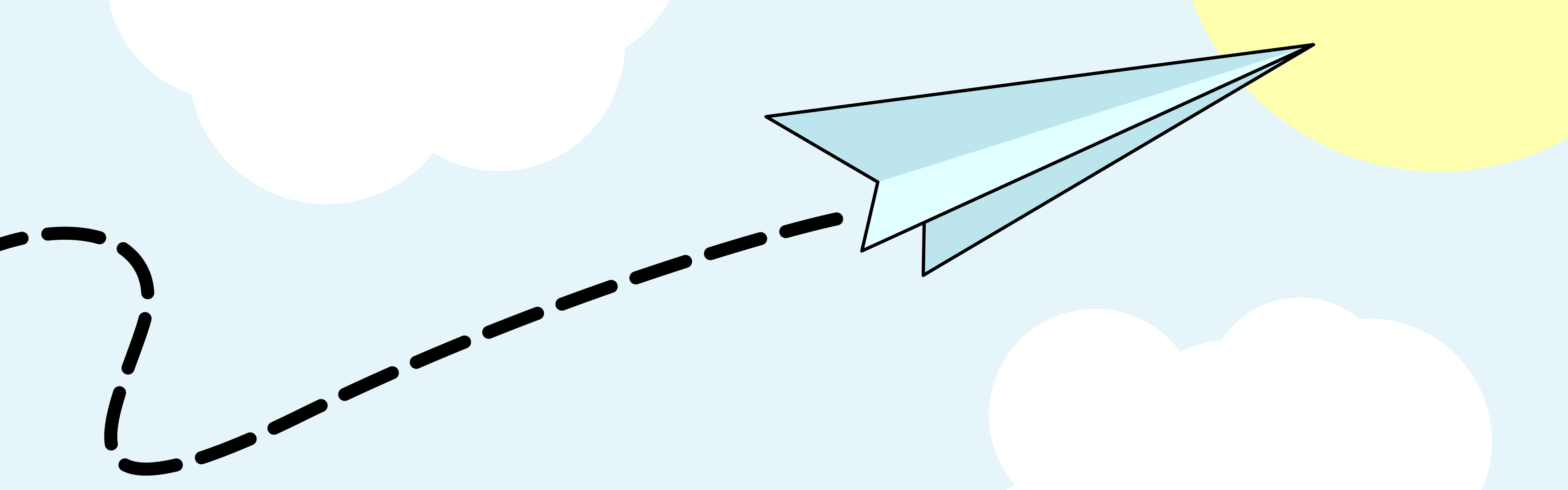 3840x1200 Image Of Paper Airplane Clipart