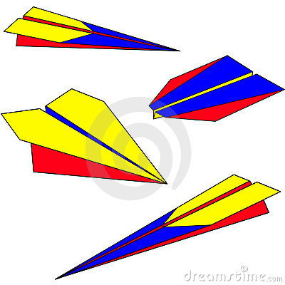 400x400 Paper Airplane Clipart