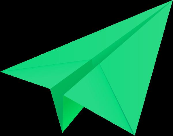 600x473 Paper Plane Vector