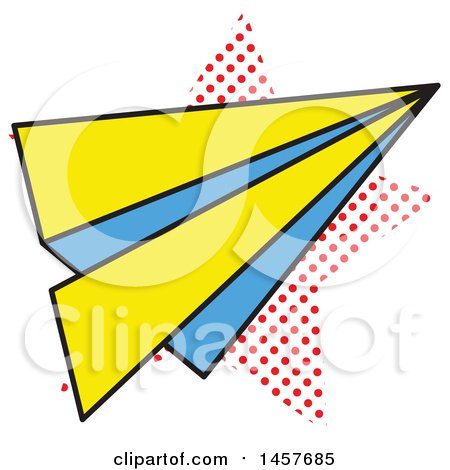 450x470 Royalty Free (Rf) Paper Airplane Clipart, Illustrations, Vector
