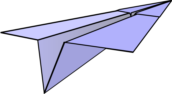 600x329 Paper Airplane Clip Art Clipart Panda