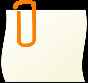 300x285 Paper Clip Clip Art