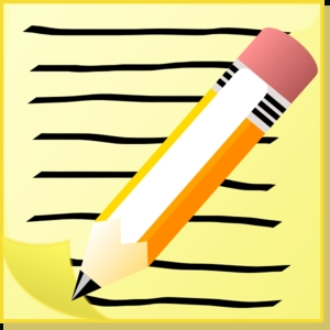 300x300 Pencil And Paper Clipart Printable And Formats