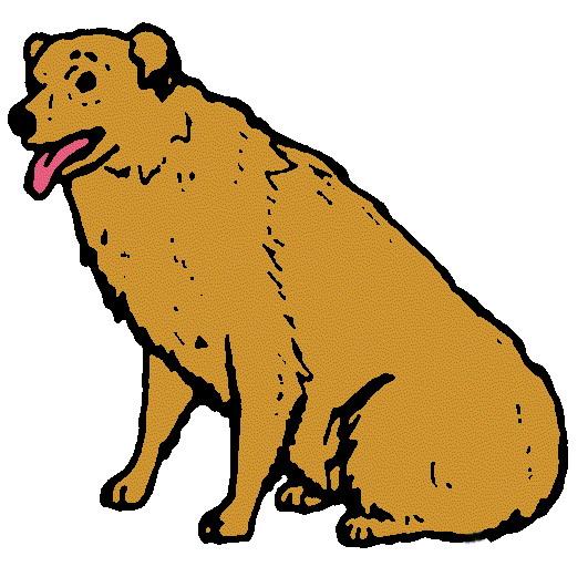 531x521 Farm Dog Clip Art Free