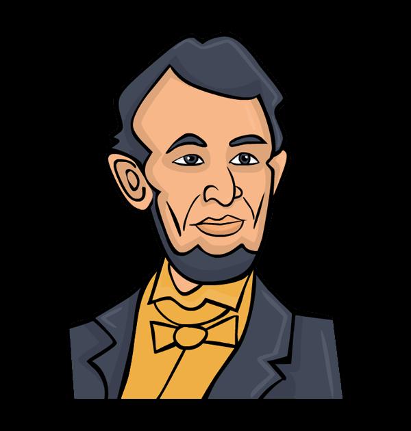 600x630 Creative Abraham Lincoln Clipart