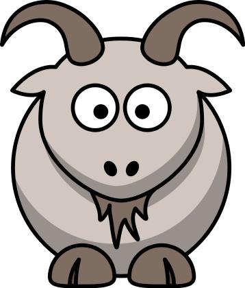 358x420 Clipart Goat Jesus Parable Sheep