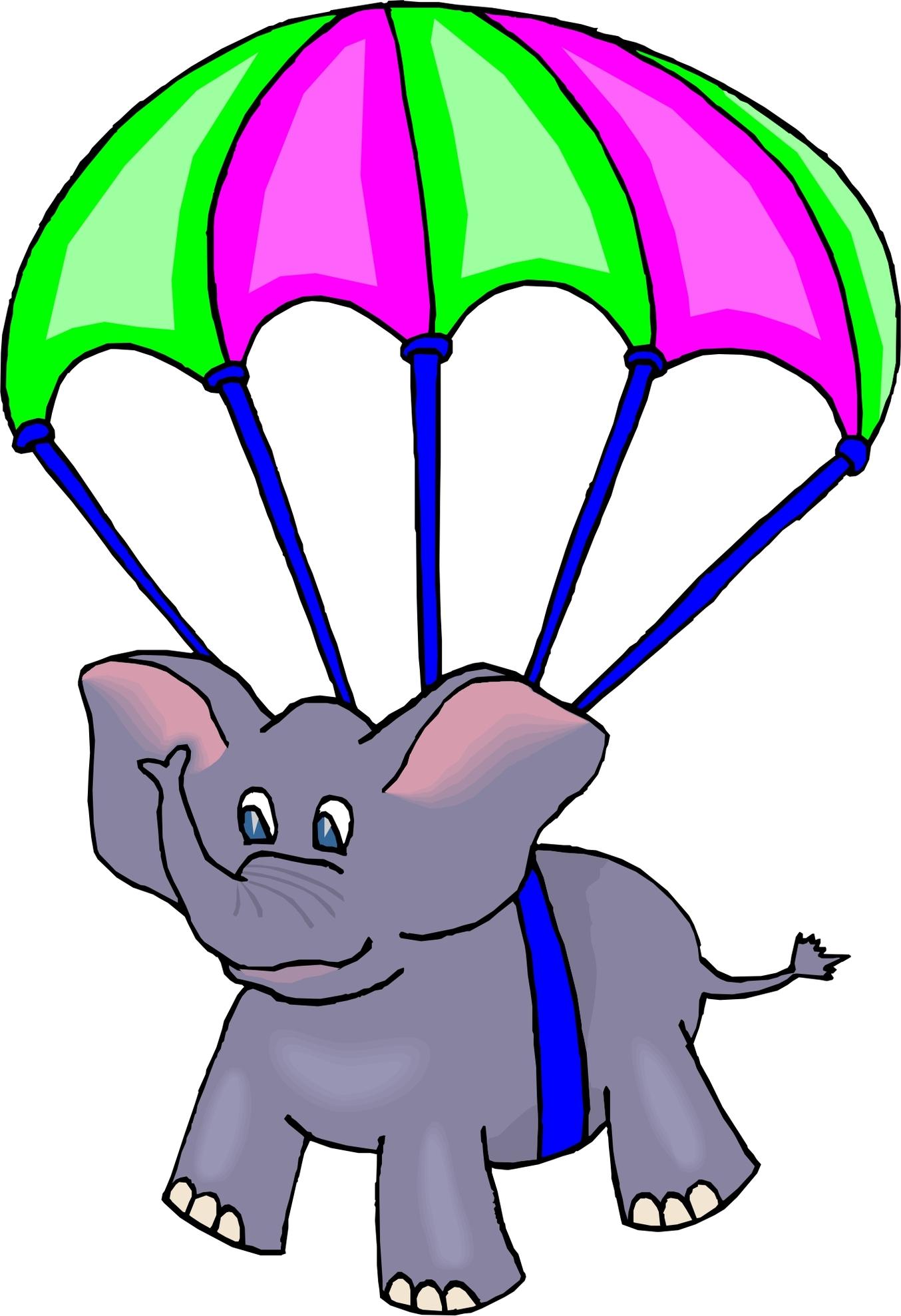1354x1977 Free Cliparts Parachute