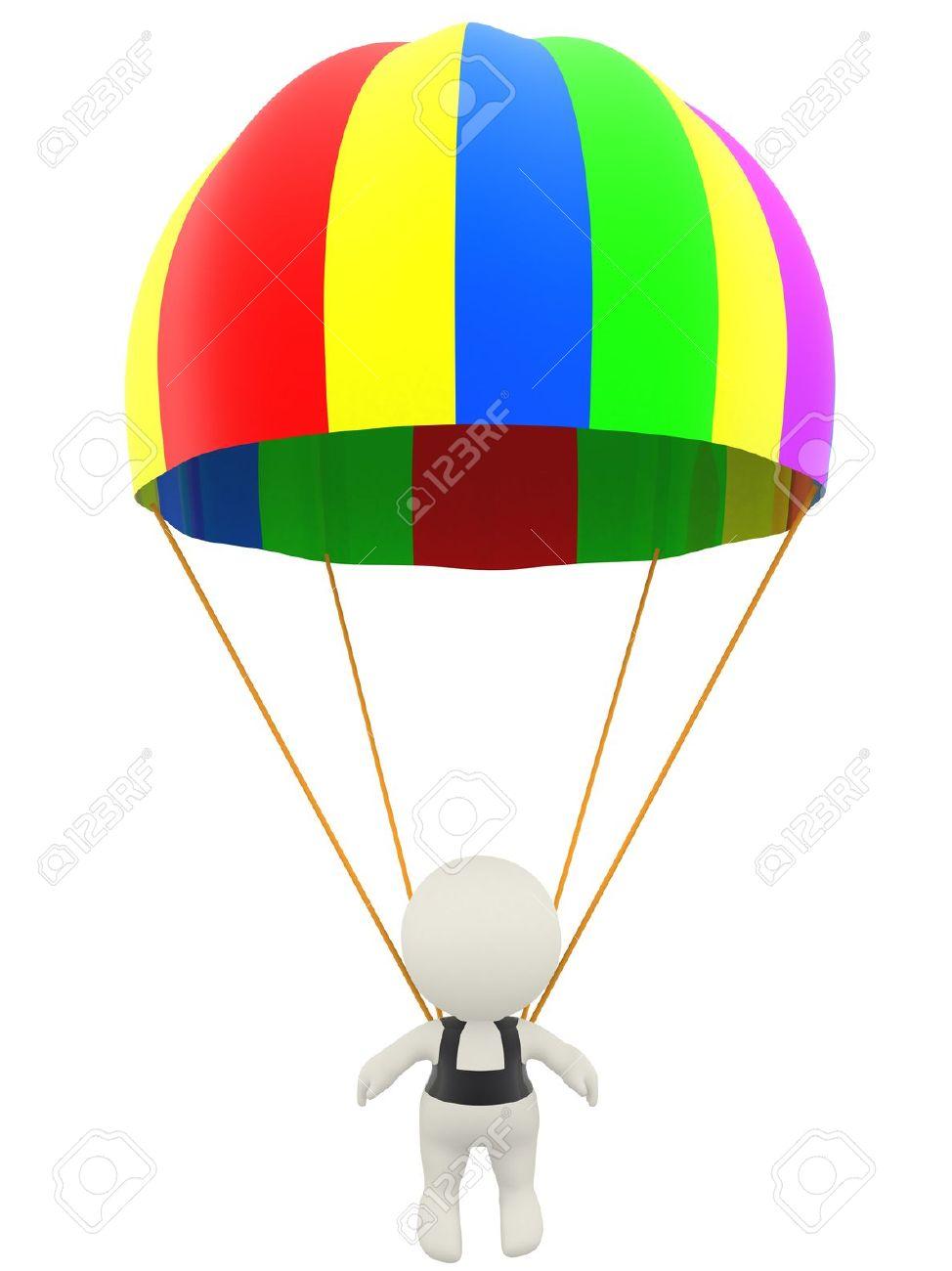 974x1300 Parachute Clipart Man