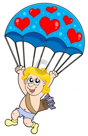 292x450 Parachute Clipart Paratrooper