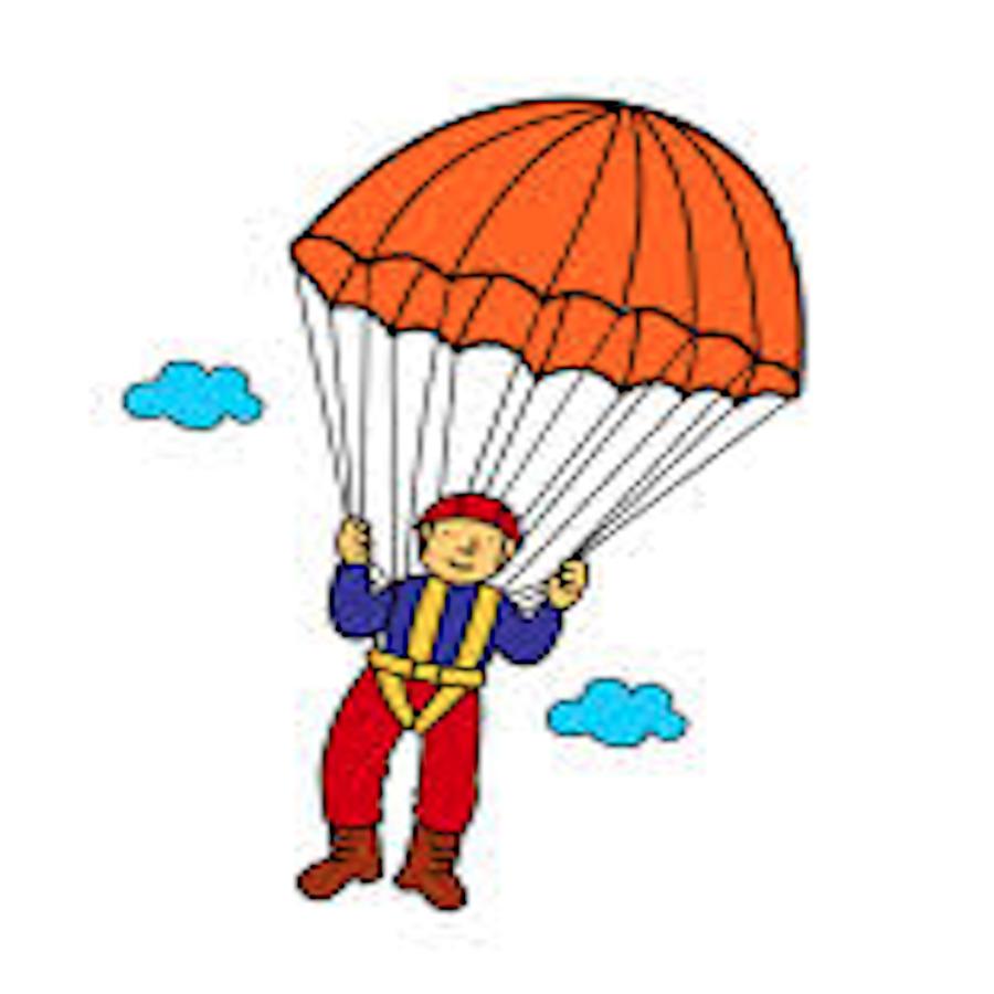 900x900 Parachute Parachuting Child Document Clip Art