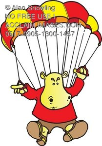 209x300 Parachute Clipart Skydiving