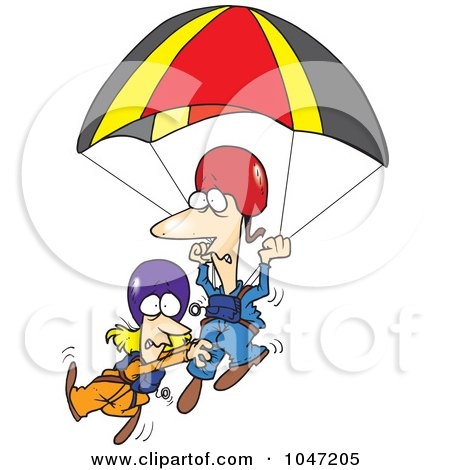 450x470 Royalty Free (Rf) Parachute Clipart, Illustrations, Vector Graphics